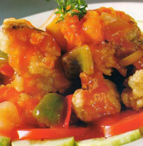 resep koloke ayam asam manis khas china enak renyah praktis