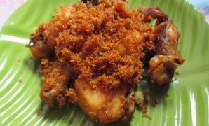 resep ayam goreng serundeng khas sunda