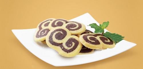 resep kue kering gulung vanilla cokelat