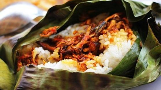 resep nasi bakar ayam kemangi
