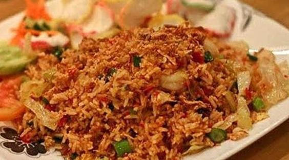 resep nasi goreng terasi pedas