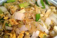 resep memasak sayur sawi putih
