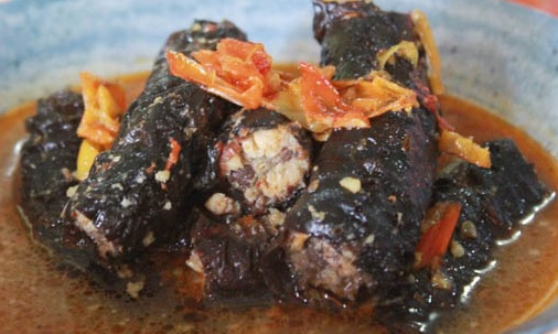 mangut belut pedas