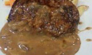 Resep Fish Steak In Mushroom Sauce