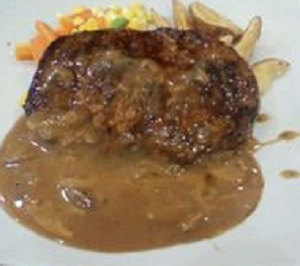 Resep Fish Steak In Mushroom Sauce