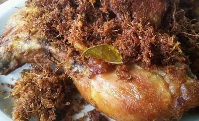 ayam goreng bumbu laos