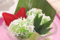 resep klepon tepung beras