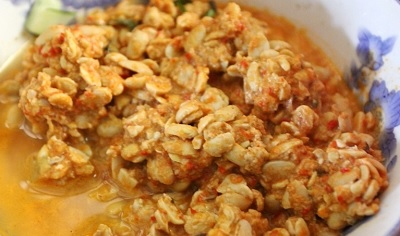 resep sambal tumpang khas kediri