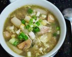 resep sup ayam asparagus