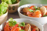 resep sup jamur asam pedas