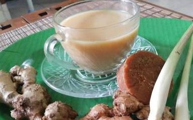 resep wedang bandrek susu