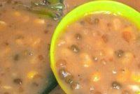 bubur jagung mutiara