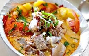 soto daging khas madura asli