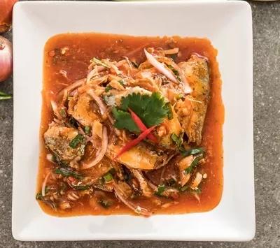 ikan makarel saus tomat