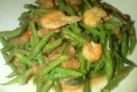 Resep Kacang panjang masak tauco