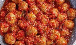 bakso mercon pedas