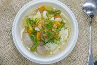 cara masak sayur sop