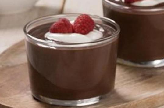 puding coklat santan