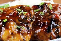 Cara Masak Ayam Teriyaki